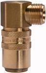 Tempered coupling DN 9, ET, Blocking valve, Brass,...