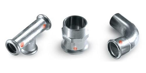 Carbon steel piping system SANHA®-Therm