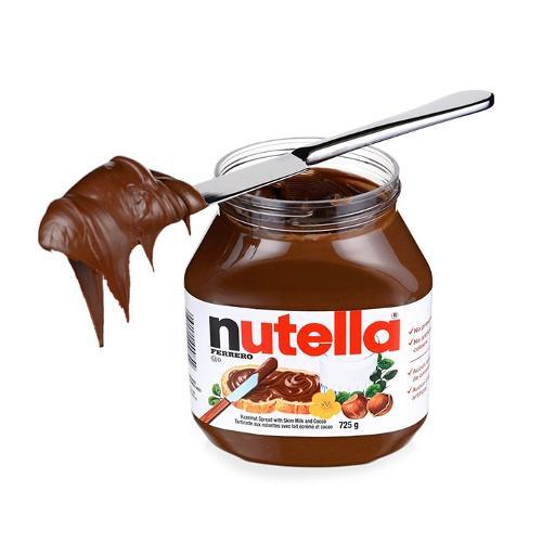 originale hasselnødder nutella ferrero chokolade 350g-1000g