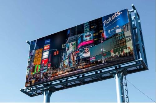 Afișaj Led cu reclame stradale