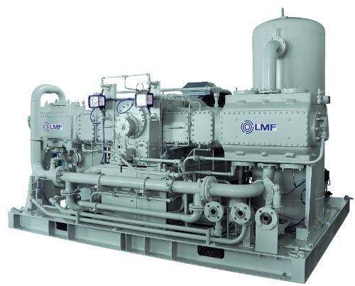 LMF Erdgas - und Biomethan Kompressoren