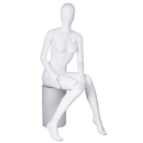 Mannequin seated