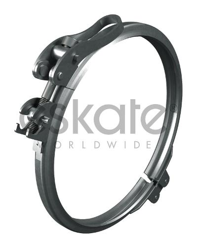 Quick-lock clamping-ring