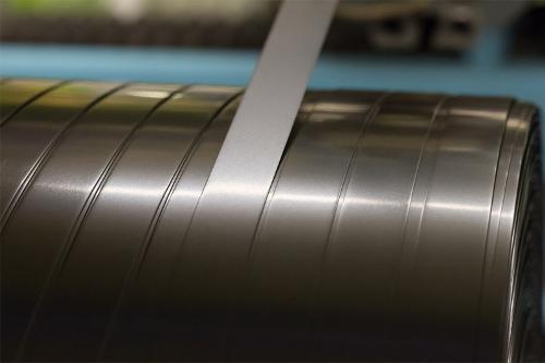 Economic efficiency through spooled metal strips
