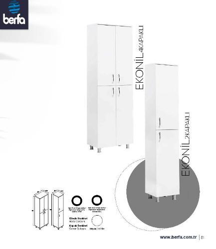 Bathroom Furtniture Eko Nil 4K