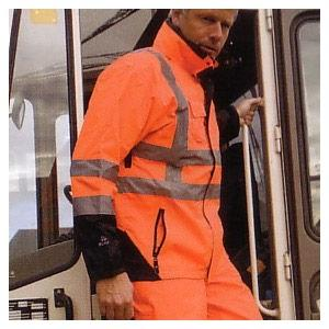High visibility specialised rainwear