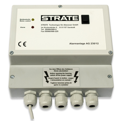 STRATE Alarm unit AG 230/12