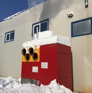 Generator mobil de aer cald si aer supraincalzit