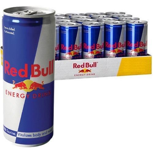 Redbull XL HELL Monster energidrikke 24x250ml dåser.