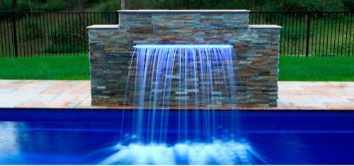 Cascada de Agua Acrílica