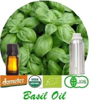 100% Pure Natural Basil (Linalool) Oil