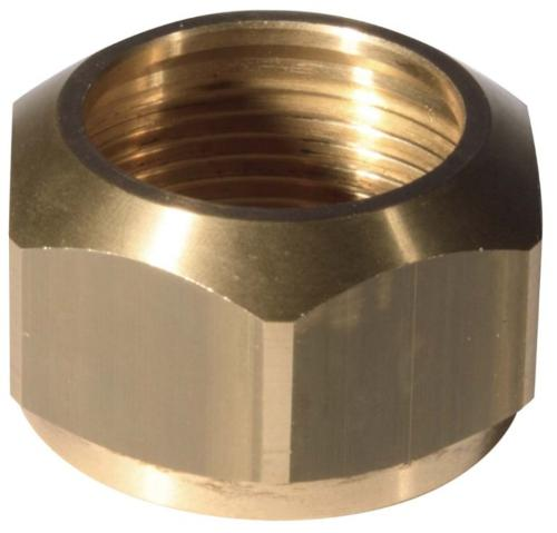 Brass nuts according to customer's drawing