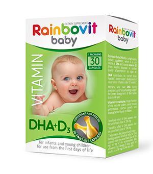Rainbovit Baby DHA+D3