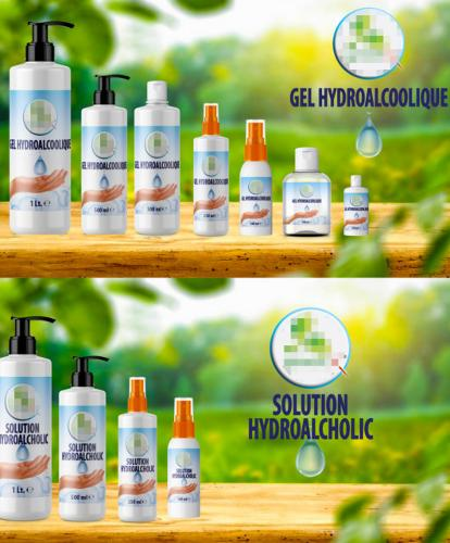 Hydroalcoholic Gel and Solution