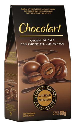 Graines de café enrobées de chocolat noir