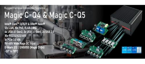 Indsutrie-PC - IPC Magic C-Q4 und Magic C-Q5
