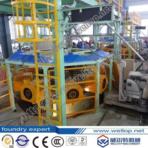 Eight-Station Cylinder Sleeve Centrifugal Casting Machine