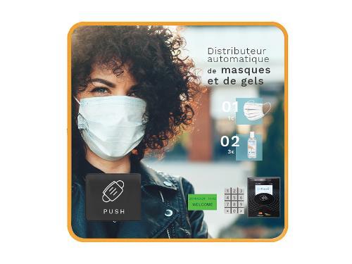 Mini Distributeur Sans Écran 9 Sélections