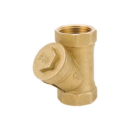 Y Strainer Brass
