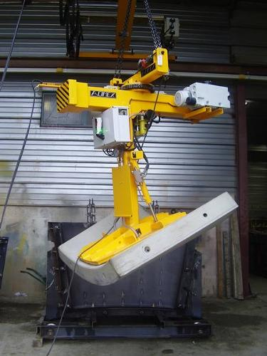 Demoulding turning vacuum lifter
