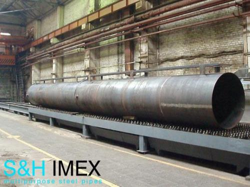 Stahlrohre 1500 mm, 1600 mm, 1700 mm...2000 mm...2400 mm.