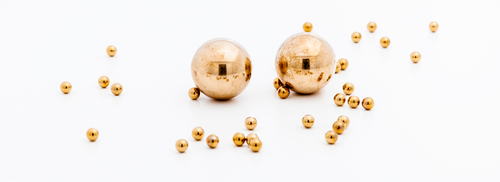 Kugeln aus Nichteisenmetallen