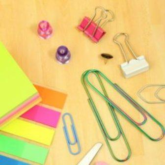 Office Desktop Stationery Essentials