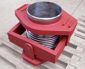 Angular expansion joints