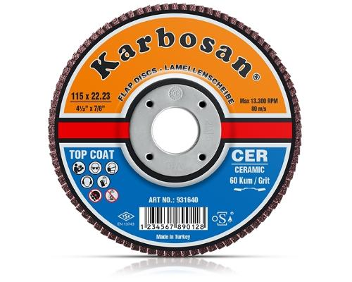 Keramik Lamellenscheibe / Ceramic Flap Disk