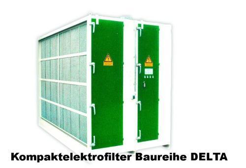 Kompaktelektrofilter Baureiche DELTA