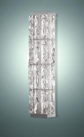 Современный хрустальный настенный светильник