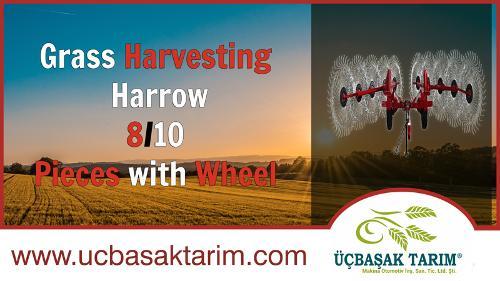 Grass Harvesting Harrow