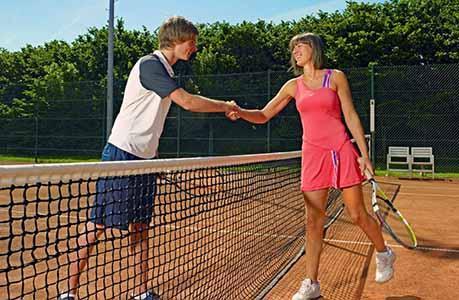 Tennisnetten