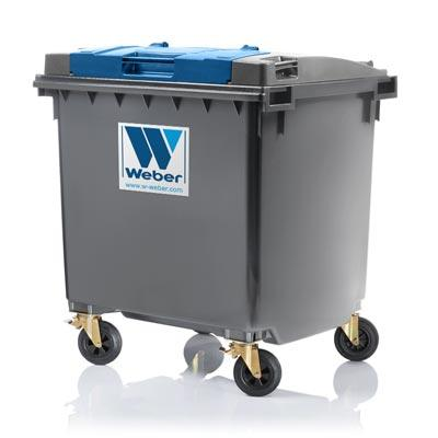 Mobile waste containers MGB 1100 L FL LIL