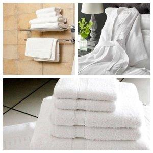 Serviettes de bain et peignoirs