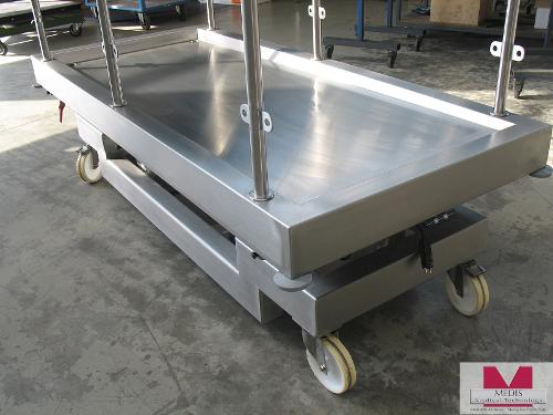 Vet. Large Animal Autopsy Table, mobile