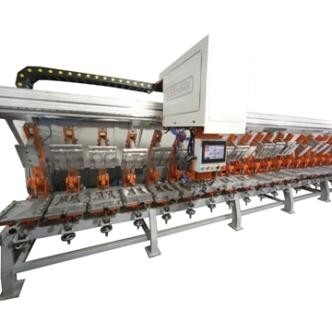 POLYURETHANE MACHINE FOR SHOE SOLES-SLIPPERS AND SHOES