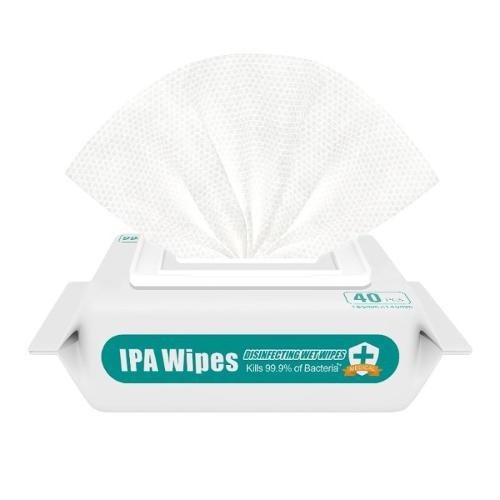 Cleaning wet wipes( 75% isopropyl alcohol) antibacterial