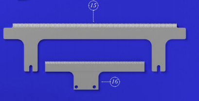 OVER-PACKAGING CUTTING BLADE