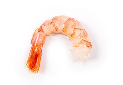 Crevettes sauvages d'Argentine décortiquées, déveinées...