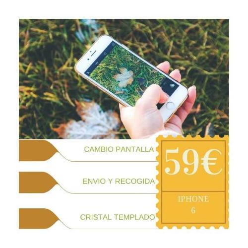 Cambio de pantalla completa Iphone 6