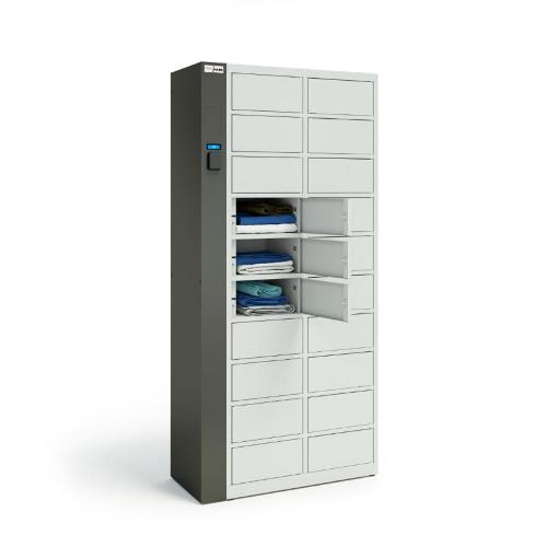 TECHCODE RFID LOCKERS FOR CLEAN CLOTHES