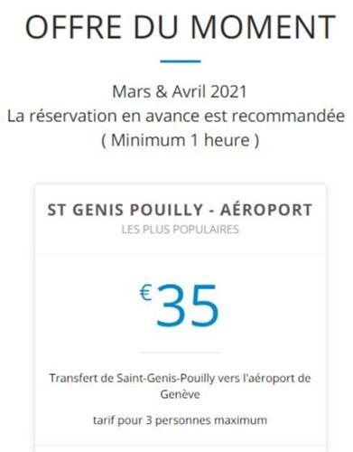 saint genis pouilly - aéroport de Genève GVA