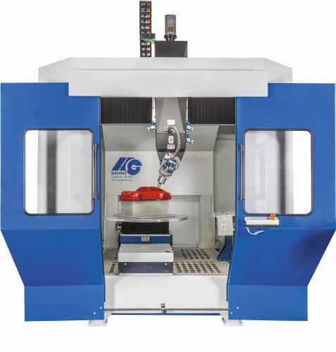 5 Achsen Rundtisch Fräsanlage RTF-1400 Kunststoffbearbeitung