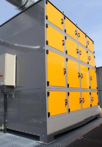 Fh4e - Filtre À Huile Industriel Type Fh4e