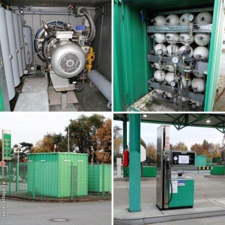 Газовая заправочная станция АГЗС