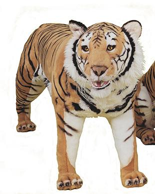 2511-Standing Bengal Tiger cm.200