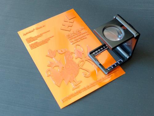 Digital photopolymer varnishing plates