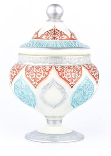 Handmade Decorated Vas