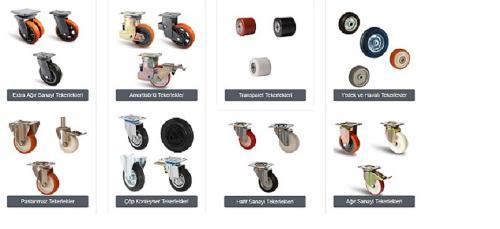 Tekerlek- Wheel Castor